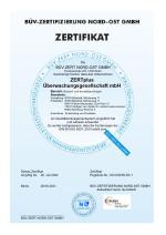 Zertifikat QMS