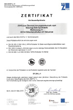 Zertifikat BUV Ost
